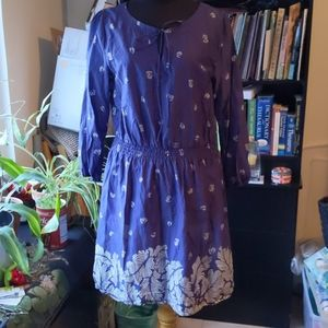 Uniqlo lightweight printed dress-size small